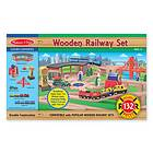 Melissa & Doug Wooden Railway Set 701