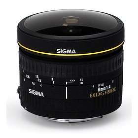 Sigma 8/3.5 EX DG Fisheye for Nikon
