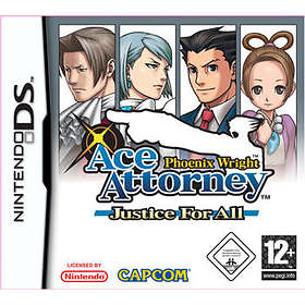 Phoenix Wright Ace Attorney: Justice for All (DS)