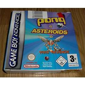 Pong + Asteroids + Yar's Revenge (GBA)