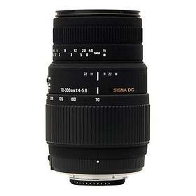 Sigma AF 70-300/4.0-5.6 DG Zoom Macro for Sony A