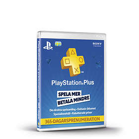 Sony PlayStation Plus 1 Year Subscription Card