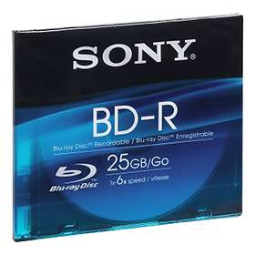 Sony BD-R 25GB 2x 1-pack Jewel Case