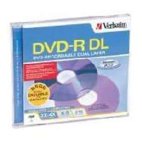 Verbatim DVD-R DL 8.5GB 4x 1-pack Jewel Case