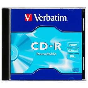 Verbatim CD-R 700MB 48x 1-pack Jewelcase