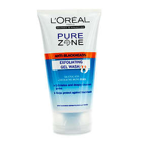 L'Oreal Pure Zone Anti-Blackheads Exfoliating Gel Wash 150ml