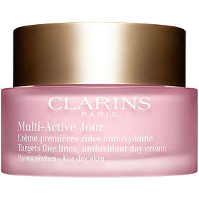 Clarins Multi-Active Jour Targets Fine Lines Antioxidant Day Cream Dry Skin 50ml
