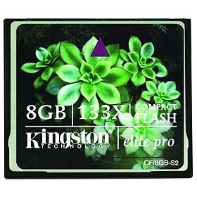 Kingston Elite Pro Compact Flash 133x 8GB