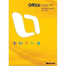 Microsoft Office Mac 2008 Home & Student Edition Eng