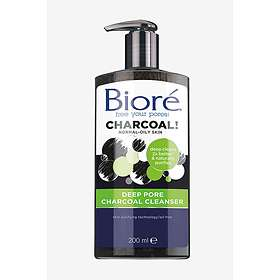 Biore Deep Pore Charcoal Cleanser 200ml