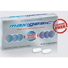 AFT Pharmaceuticals Maxigesic 500mg/150mg 16 Tablets