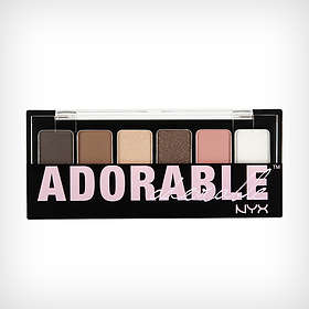NYX The Adorable Shadow Palette 6g