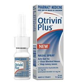 Novartis Otrivin Plus Nasal Spray 10ml