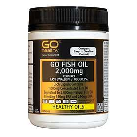 Go Healthy GO Fish Oil 2000mg 230 Capsules