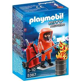 Playmobil City Action 5367 Special Forces Firefighter
