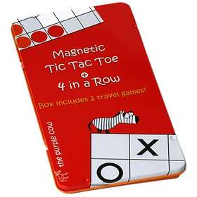 Magnetic 4 in a Row & Tic Tac Toe (pocket)