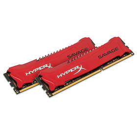 Kingston HyperX Savage DDR3 2400MHz 2x4GB (HX324C11SRK2/8)