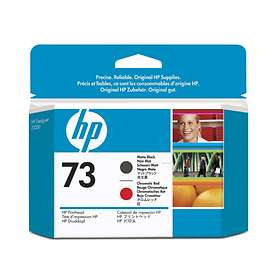 HP 73 Printhead (Matte Black/Chromatic Red)