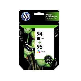 HP 94 (Black) + 95 (3-Colour)