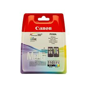 Canon PG-510 (Black) + CL-511 (3-Colour)