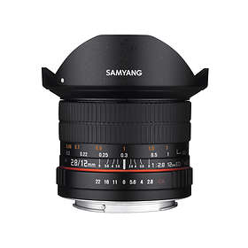 Samyang 12/2.8 ED AS NCS Fisheye for Canon