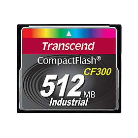 Transcend Industrial Compact Flash 300x 512MB