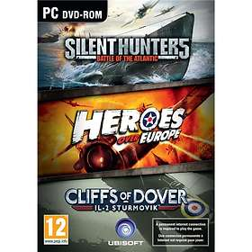IL-2 Sturmovik: Cliffs of Dover + Silent Hunter 5 + Heroes over Europe (PC)