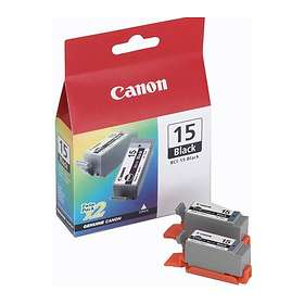Canon BCI-15BK (Black) 2-pack