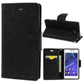 Goospery Fancy Diary for Sony Xperia M2