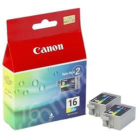 Canon BCI-16CL (3-Colour) 2-pack
