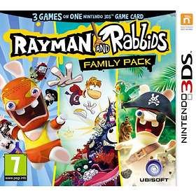 Rayman & Rabbids - Family Pack (3DS)