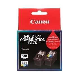 Canon PG-640BK (Black) + CL-641 (3-Colour)
