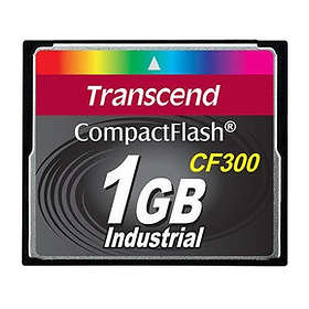 Transcend Industrial Compact Flash 300x 1GB
