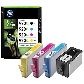 HP 920XL (Black/Cyan/Magenta/Yellow)