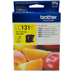 Brother LC131Y (Yellow)