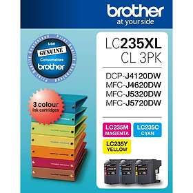 Brother LC235XL (Cyan/Magenta/Yellow)