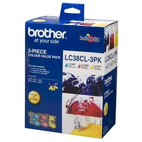 Brother LC38 (Cyan/Magenta/Yellow)