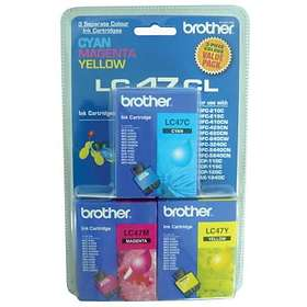 Brother LC47 (Cyan/Magenta/Yellow)