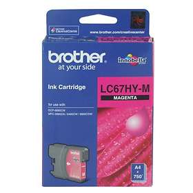 Brother LC67HYM (Magenta)
