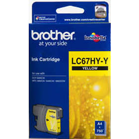 Brother LC67HYY (Yellow)
