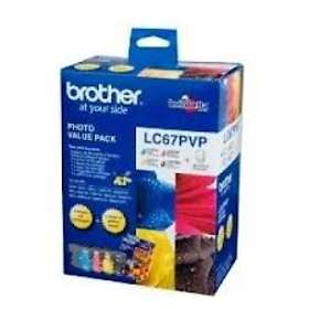 Brother LC67 (Black/Cyan/Magenta/Yellow)