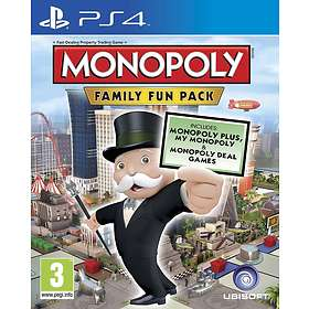 Monopoly: Family Fun Pack (PS4)