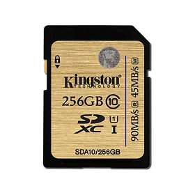 Kingston Ultimate SDXC Class 10 UHS-I U1 90/45MB/s 256GB