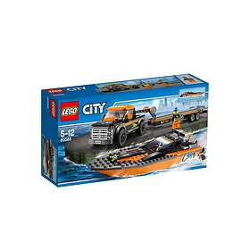 LEGO City 60085 4x4 with Powerboat
