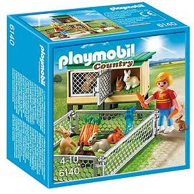 Playmobil Country 6140 Rabbit Pen with Hutch