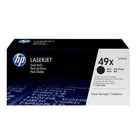 HP 49X (Black) 2-pack