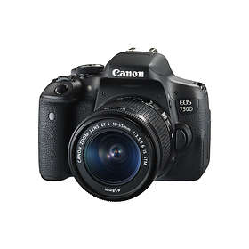 Canon EOS 750D + 18-55/3.5-5.6 IS STM