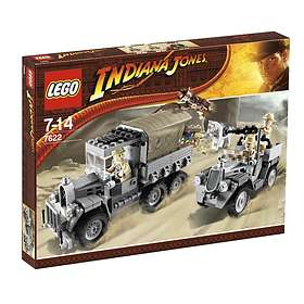 LEGO Indiana Jones 7622 Race for the Stolen Treasure