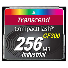 Transcend Industrial Compact Flash 300x 256MB