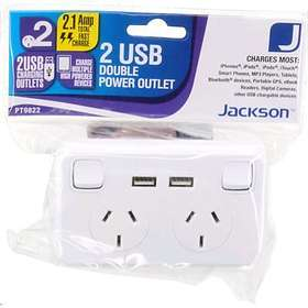 Jackson tm 2-Way 2xUSB 2xSwitch